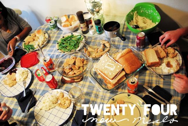 twenty four meals