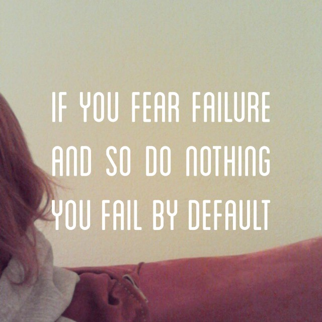 fear failure