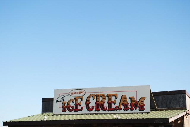 icecream sign